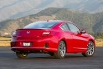 2015 Honda Accord Coupe EX-L V6 in San Marino Red - Static Rear Right View