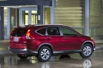 2013 Honda CR-V EX-L AWD in Basque Red Pearl II - Static Rear Right Three-quarter View