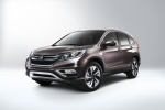 2016 Honda CR-V Touring in Modern Steel Metallic - Static Front Left Three-quarter View