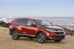 2017 Honda CR-V Touring AWD in Molten Lava Pearl - Static Front Right View