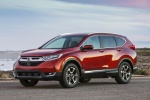 2018 Honda CR-V Touring AWD in Molten Lava Pearl - Static Front Left Three-quarter View