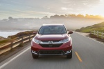 2019 Honda CR-V Touring AWD in Molten Lava Pearl - Driving Frontal View