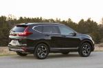 2019 Honda CR-V Touring AWD in Crystal Black Pearl - Static Rear Right Three-quarter View