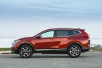 2019 Honda CR-V Touring AWD in Molten Lava Pearl - Static Side View
