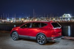 2019 Honda CR-V Touring AWD in Molten Lava Pearl - Static Rear Left Three-quarter View