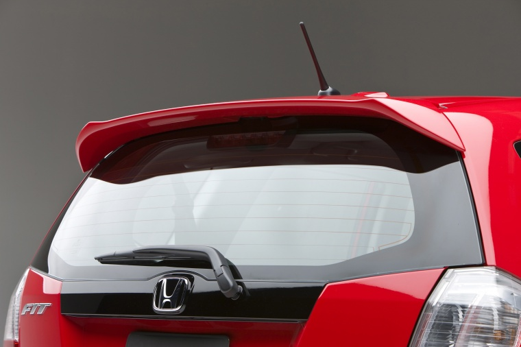 2010 Honda Fit Sport Rear Spoiler
