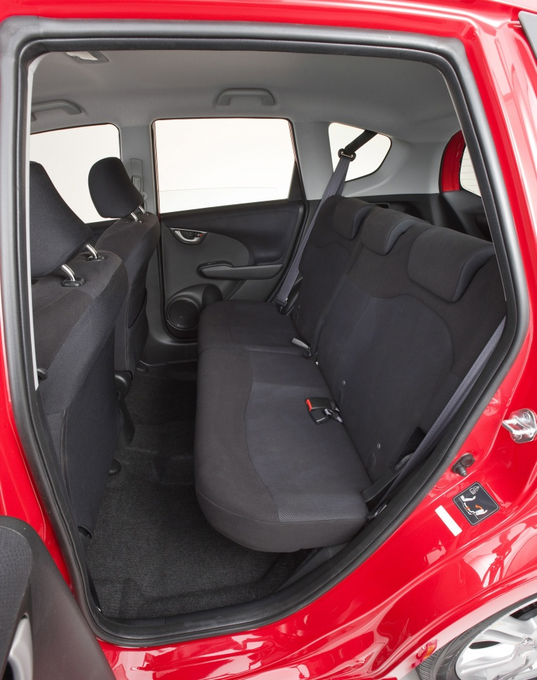 2010 Honda Fit Sport Rear Seats
