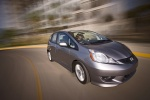 2010 Honda Fit Sport - Driving Front Right Three-quarter View