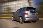 2010 Honda Fit Sport - Driving Rear Left View