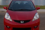 2010 Honda Fit in Milano Red - Static Frontal View