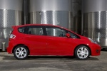 2010 Honda Fit in Milano Red - Static Right Side View
