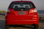 2010 Honda Fit in Milano Red - Static Rear View