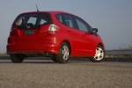 2010 Honda Fit in Milano Red - Static Rear Right Three-quarter View