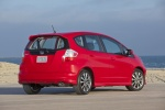 2012 Honda Fit Sport in Milano Red - Static Rear Right View