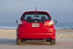 2013 Honda Fit Sport in Milano Red - Static Rear View
