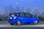 2013 Honda Fit EV in Reflection Blue Pearl - Status Rear Right Three-quarter View