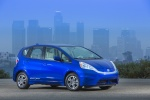 2013 Honda Fit EV in Reflection Blue Pearl - Status Front Right Three-quarter View