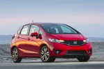 2017 Honda Fit in Milano Red - Static Front Right View