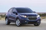2017 Honda HR-V in Deep Ocean Pearl - Static Front Right View