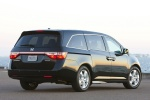 2011 Honda Odyssey Touring in Crystal Black Pearl - Static Rear Right View