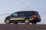 2011 Honda Odyssey Touring in Crystal Black Pearl - Static Rear Left Three-quarter View