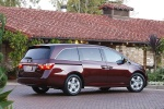 2011 Honda Odyssey Touring in Dark Cherry Pearl - Static Rear Right Three-quarter View