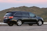 2011 Honda Odyssey Touring in Crystal Black Pearl - Static Rear Right Three-quarter View
