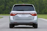 2011 Honda Odyssey Touring in Alabaster Silver Metallic - Static Rear View