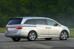 2011 Honda Odyssey Touring in Alabaster Silver Metallic - Static Rear Right Three-quarter View