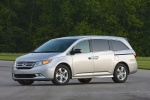 2011 Honda Odyssey Touring in Alabaster Silver Metallic - Static Front Left Three-quarter View