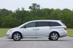 2011 Honda Odyssey Touring in Alabaster Silver Metallic - Static Side View