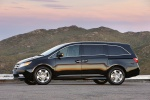 2011 Honda Odyssey Touring in Crystal Black Pearl - Static Left Side View