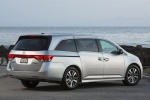 2015 Honda Odyssey Touring Elite in Alabaster Silver Metallic - Static Rear Right Three-quarter View