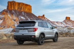 2020 Honda Passport Elite AWD in Lunar Silver Metallic - Static Rear Right View