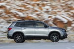 2020 Honda Passport Elite AWD in Lunar Silver Metallic - Driving Right Side View