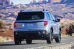 2020 Honda Passport Elite AWD in Lunar Silver Metallic - Driving Rear Right View
