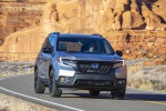 2020 Honda Passport Elite AWD in Lunar Silver Metallic - Driving Front Right View