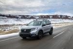 2020 Honda Passport Elite AWD in Lunar Silver Metallic - Driving Front Left View