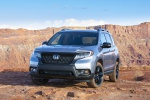 2020 Honda Passport Elite AWD in Lunar Silver Metallic - Static Front Left View
