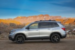 2020 Honda Passport Elite AWD in Lunar Silver Metallic - Static Left Side View