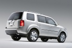 2011 Honda Pilot in Alabaster Silver Metallic - Static Rear Right Three-quarter View