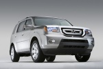 2011 Honda Pilot in Alabaster Silver Metallic - Static Front Right Three-quarter View
