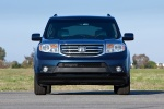 2013 Honda Pilot Touring in Obsidian Blue Pearl - Static Frontal View