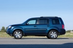 2013 Honda Pilot Touring in Obsidian Blue Pearl - Static Side View