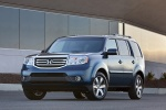 2015 Honda Pilot Touring in Obsidian Blue Pearl - Static Front Left View