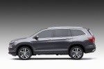 2016 Honda Pilot in Modern Steel Metallic - Static Side View