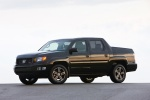2013 Honda Ridgeline in Crystal Black Pearl - Static Front Left Three-quarter View