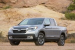 2017 Honda Ridgeline AWD in Lunar Silver Metallic - Static Front Left View