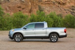 2019 Honda Ridgeline AWD in Lunar Silver Metallic - Static Side View