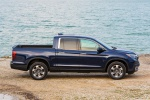 2019 Honda Ridgeline AWD in Obsidian Blue Pearl - Static Side View